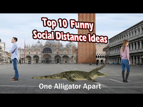 top 10  Funny social distance ideas (crazy social distancing)