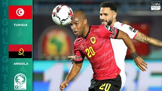 HIGHLIGHTS: Tunisia vs. Angola