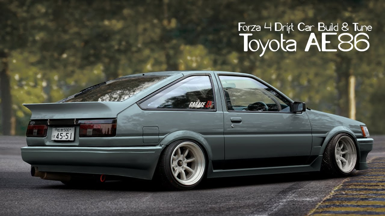 Forza Drift Car Building Tuning Toyota Youtube