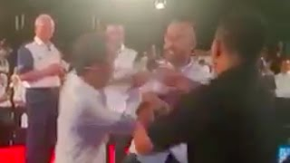 Mat Over slaps David Teo at TN50 event (video from Youtube user Tiga Para)