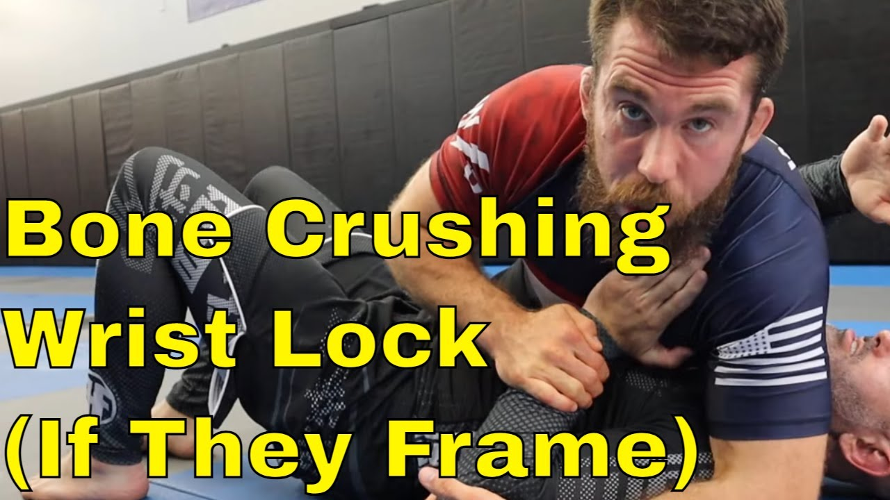 Low Risk, High Reward Wrist Lock from Side Control (If They Frame)