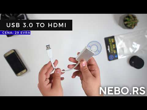 NEBO.rs / Unboxing - USB 3.0 to HDMI Adapter