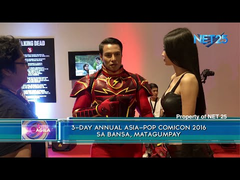 3-day annual Asia-Pop COMICON sa bansa, matagumpay