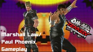 Tekken Tag Tournament 2:Marshall Law/Paul Phoenix Gameplay