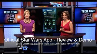 Official Star Wars App: Games, Selfies with Darth Vader, Breaking News, Countdown and More