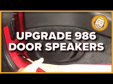 How to replace/upgrade door speakers in Porsche Boxster 986