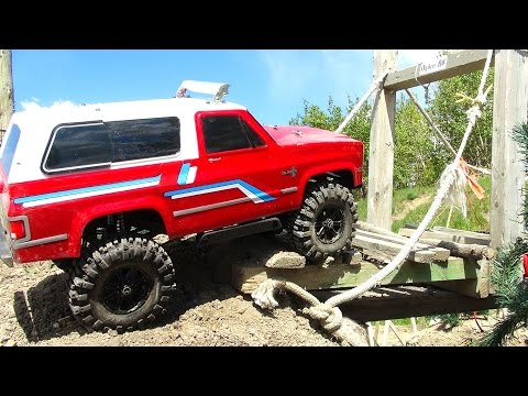 RC ADVENTURES - Trailing Canada's LARGEST OUTDOOR Scale Trail 4x4 Park!