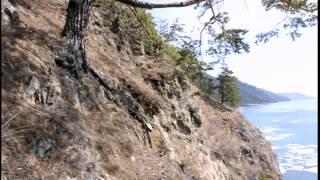 Озеро Байкал тропа из Листвянки  в Большие Коты