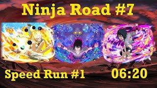 Naruto Shippuden: Ultimate Ninja Blazing - Ninja Road #7: Speed Run #1 (06:20)