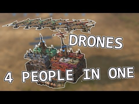 4 PERSON DRONE MOTHERSHIP - Crossout