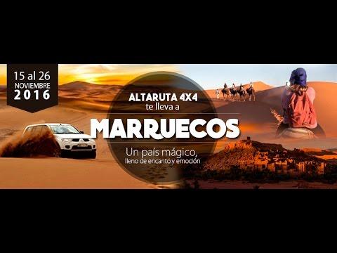ALTA RUTA 4x4 - MARRUECOS 2016