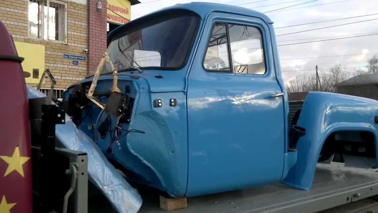 Сборка двигателя ГАЗ 53 - YouTube