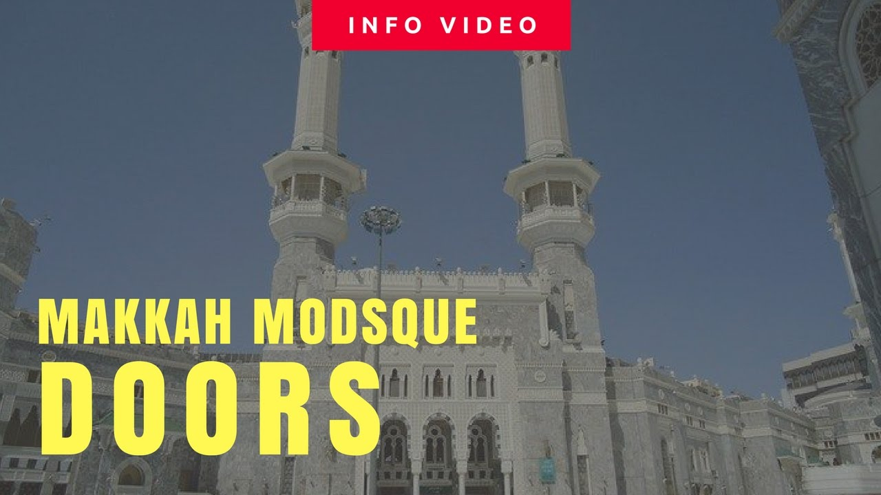Doors of the Al-Masjid Al-Haram  sc 1 st  YouTube & Doors of the Al-Masjid Al-Haram - YouTube pezcame.com