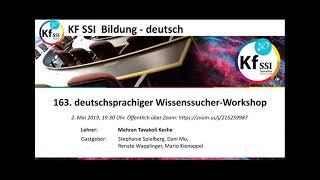 2019 05 02 PM Public Teachings in German - Öffentliche Schulungen in Deutsch