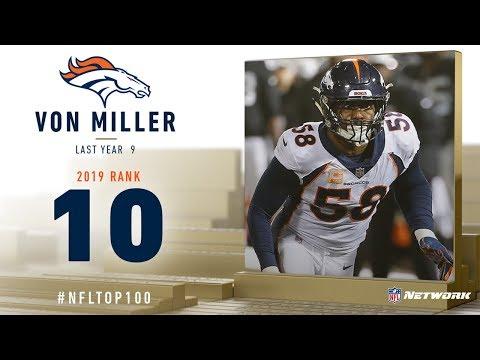 #10: Von Miller (LB, Broncos) | Top 100 Players of 2019 | NFL