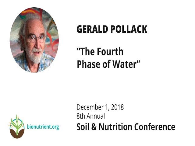 Gerald Pollack:The Fourth Phase of Water | SNC 2018