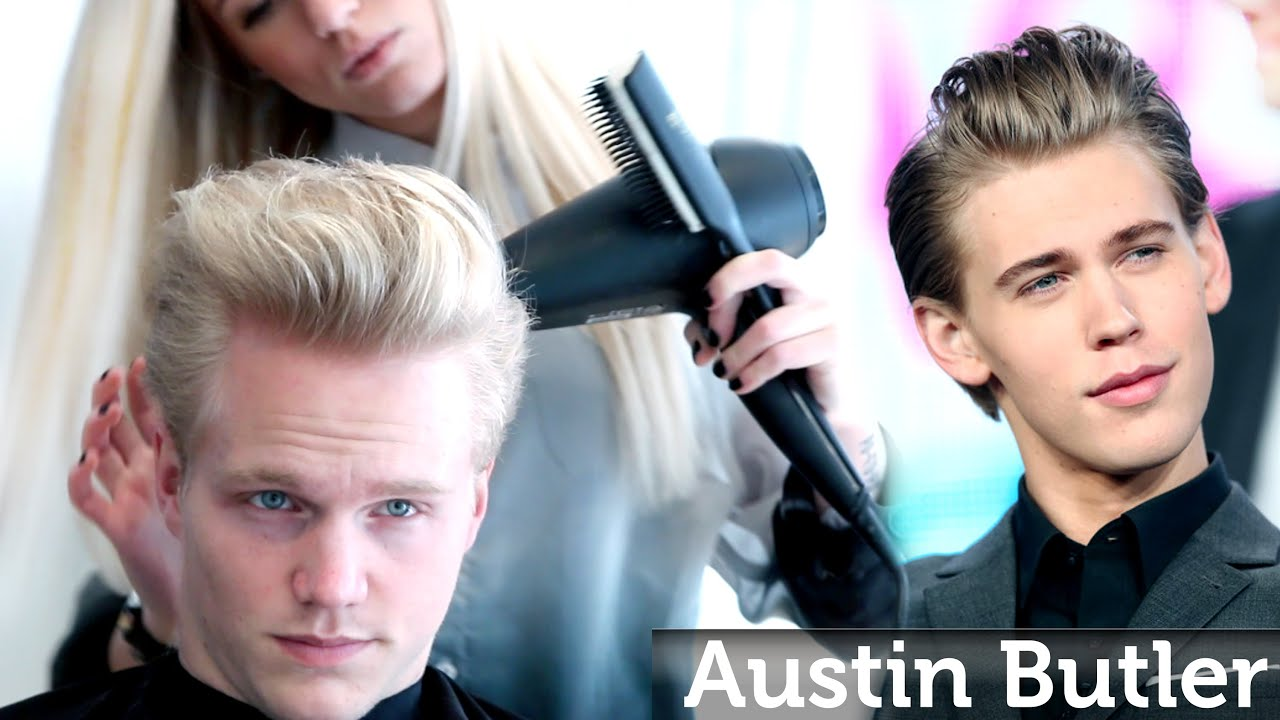 Austin Butler Hairstyle Professional Mens Haircut Style By
