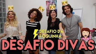 QUAL É A DIVA? ft. Jennifer Nascimento, Daniel Blanco e Luiza Possi| Foquinha