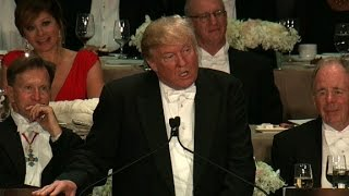 Donald Trump's entire speech at the Al Smith dinner by : CNN