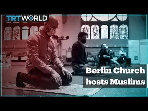 Berlin Church Hosts Friday Prayers For Muslims