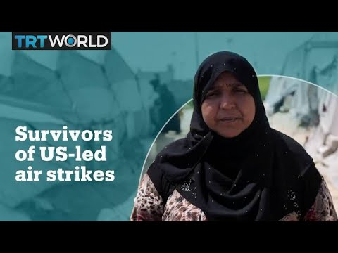 Civilians in Raqqa recount deadly air strikes