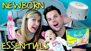 NEWBORN ESSENTIALS | Baby Steps: Cullen & Katie