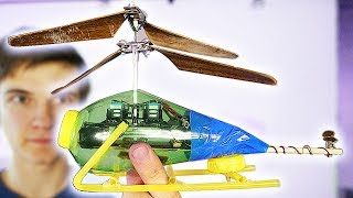 how To Make A helicopter-Will It Fly With Tv Remote?
