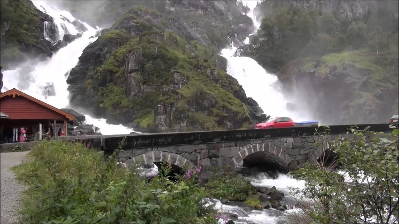 Image result for langfossen waterfall
