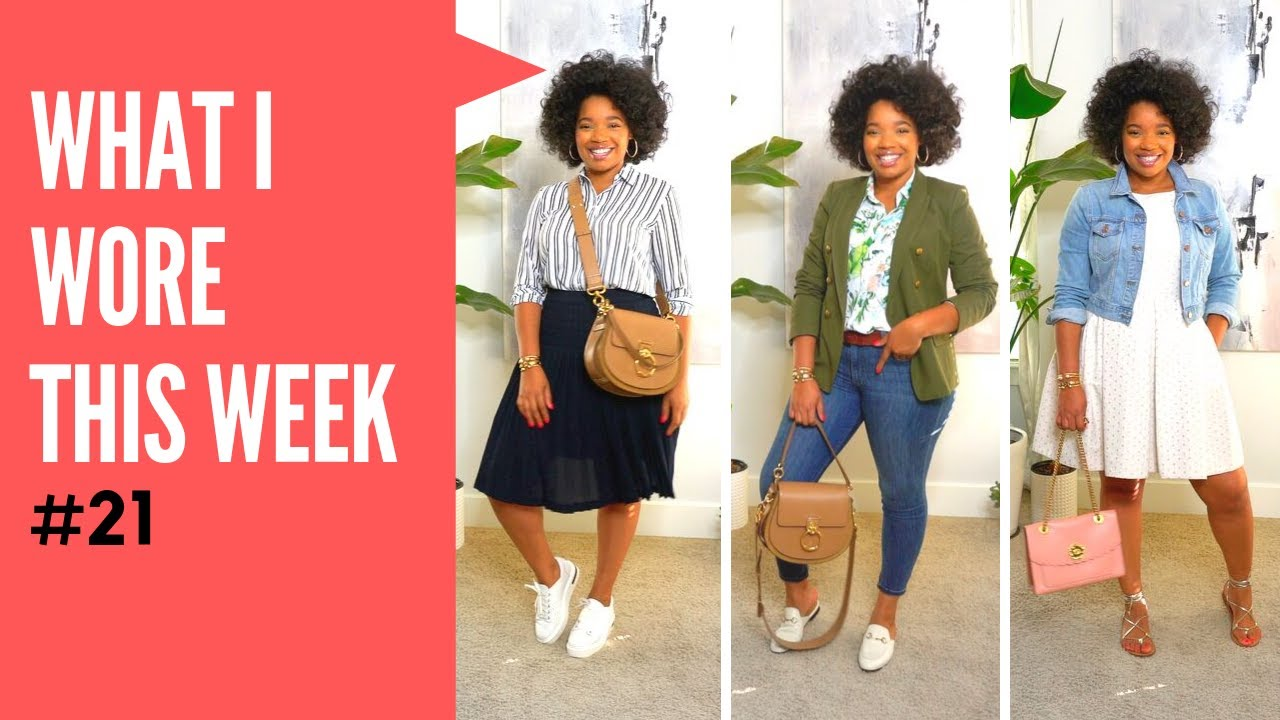 [VIDEO] - Transitional End of Summer Outfit Ideas | What I Wore This Week #21 2