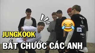 [BTS funny moments #37] JUNGKOOK bắt chước các anh =)))) (Bắt chước Phần 4)