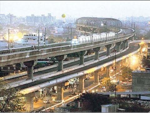 Jaipur First Elevated Road under jaipur metro train bridge   Double story bridge at Ajmer Road