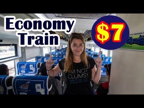 INDONESIAN TRAIN | Surabaya to Semarang ECONOMY CLASS