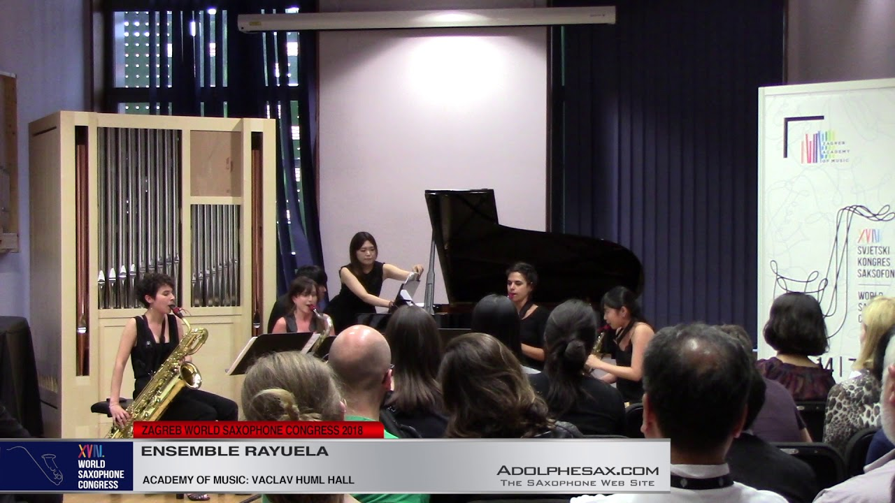 Quintet Nº2 Op 8 by Antonin Dvorak   Ensemble Rayuela   XVIII World Sax Congress 2018 #adolphesax