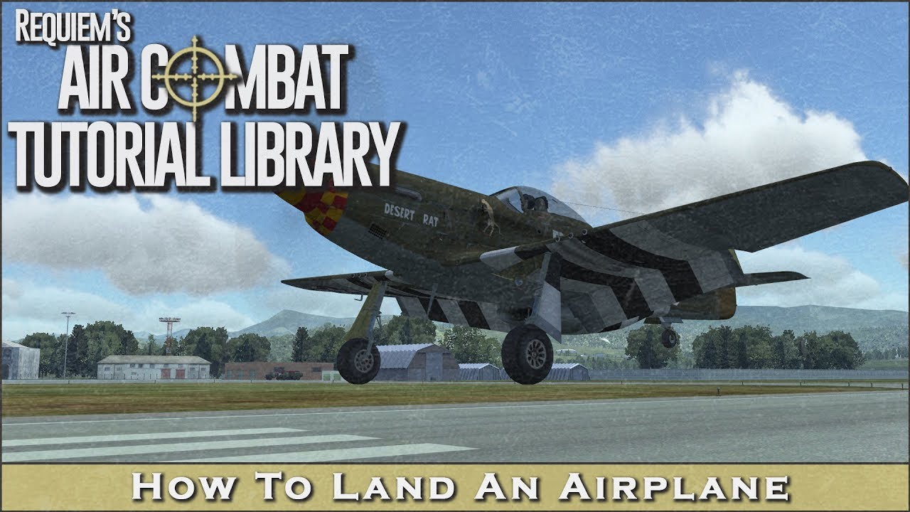 how to land an airplane To land a plane safely make sure you approach the runway straight on slow down the plane with the same.