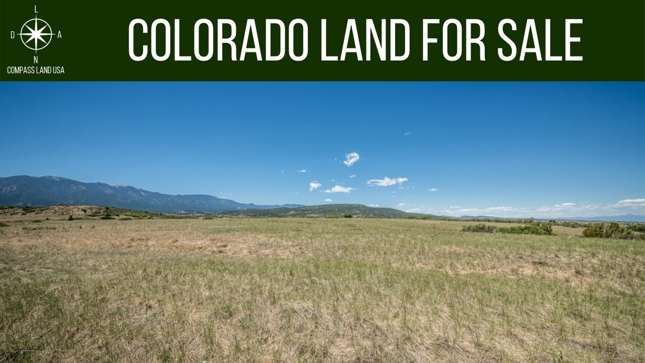 SOLD By Compass Land USA - 0.23 Acres - Power 300 Feet! In Colorado City, Pueblo County CO