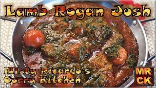 Lamb Rogan Josh (Indian Restaurant Style) by Misty Ricardo's Curry Kitchen