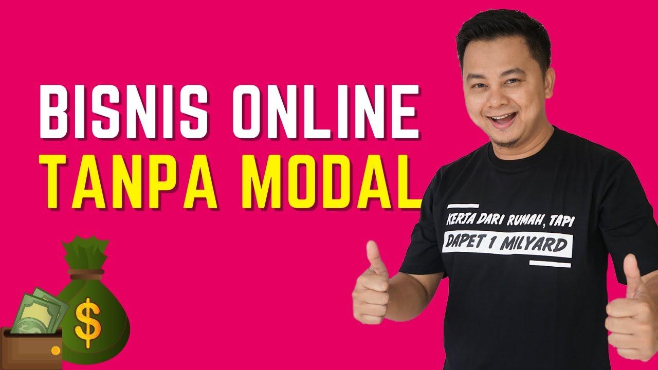 BISNIS ONLINE TANPA MODAL TANPA KELUAR UANG - YouTube