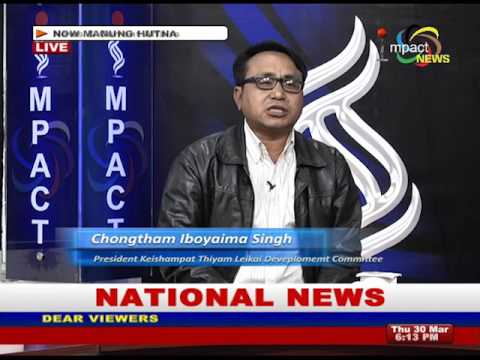 Heavy Shower experience flood in Imphal Areas  : Manung Hutna 30 March 2017