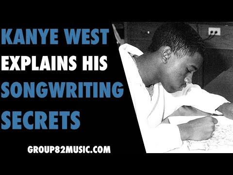 Kanye West Explains His Songwriting Secrets