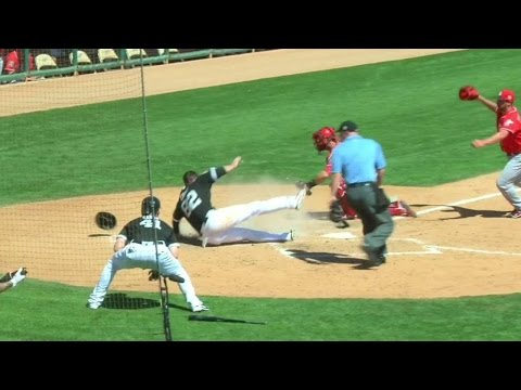 CIN@CWS: Eaton gives White Sox lead with single