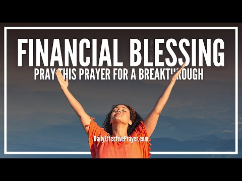 Prayer For Financial Blessing | Miracle Prayers For Immediate Financial Blessings