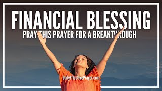 Prayer For Financial Blessing - Prayers For Financial Blessings