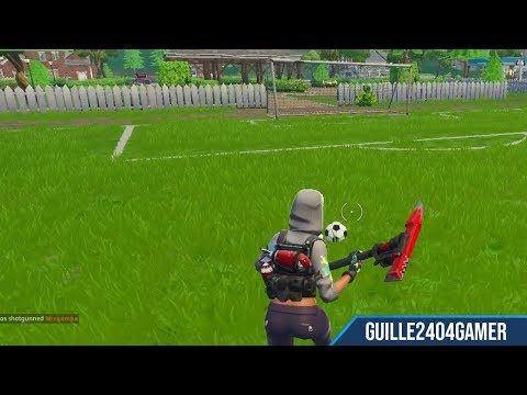 Fortnite Battle Royale - Score Goals On Different Pitches (All Locations) - (Battle Pass Challenge)