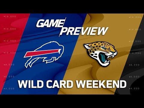 Buffalo Bills vs. Jacksonville Jaguars | NFL Wild Card Weekend Game Preview | NFL Playbook