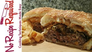"""The Houston Texans """"queso Frito"""" Burger - Nfl Burgers - Noreciperequired.com"""