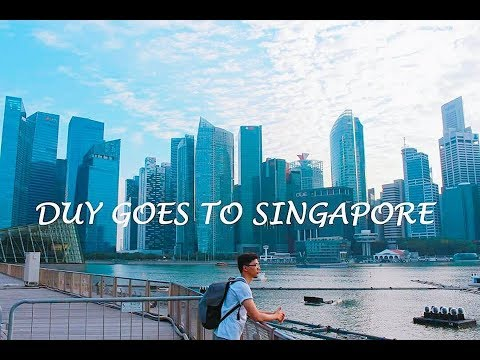 Đi Singapore cùng Duy   Bí Kíp Du Lịch   Singapore Travel Diary 2017   Things To Do in Singapore