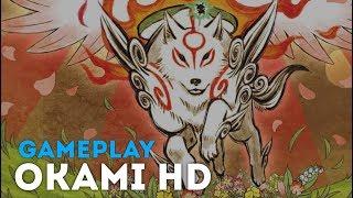 Okami HD \ 大神 絶景版 - начало игры (PC, Xbox One, PS4)