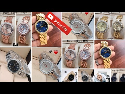 Latest Watches For Girls 2020 || Best Ladies Watch Collection || Brand First Copy Watch Design For