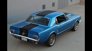 1965 Mustang Restomod walk around
