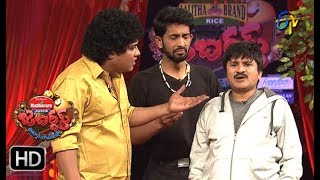 Rocket Raghava Performance | Jabardasth |  4th January 2018  | ETV  Telugu